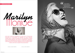 Editorial de Moda Marilyn Monroe para Pop Up MAGAZINE #7