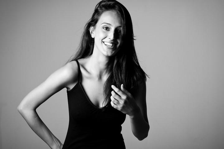 Making Of de ensaio de moda da Modelo Thaís Romualdo