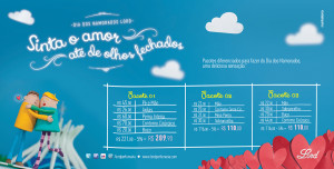 Campanha de Dia dos Namorados para a Lord Perfumaria 2013