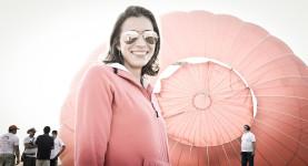 Retrato – Rayssa Sereno . Balonismo em Brasília