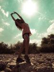 Retrato de Lauris – Hermosa Bailarina
