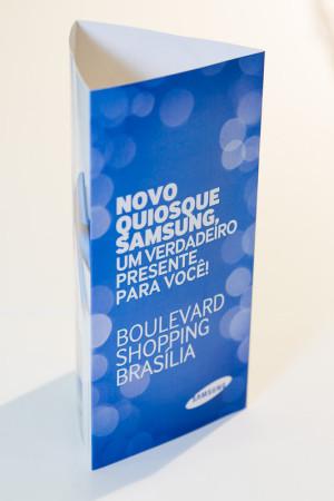 Fotografia de Eventos – Samsung – Lançamento de Quiosque no Shopping Boulevart