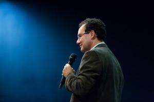 Augusto Cury em palestra na PGR