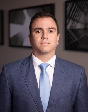 Retrato Profissional Corporativo do Advogado Dr Felipe Teixeira Vieira